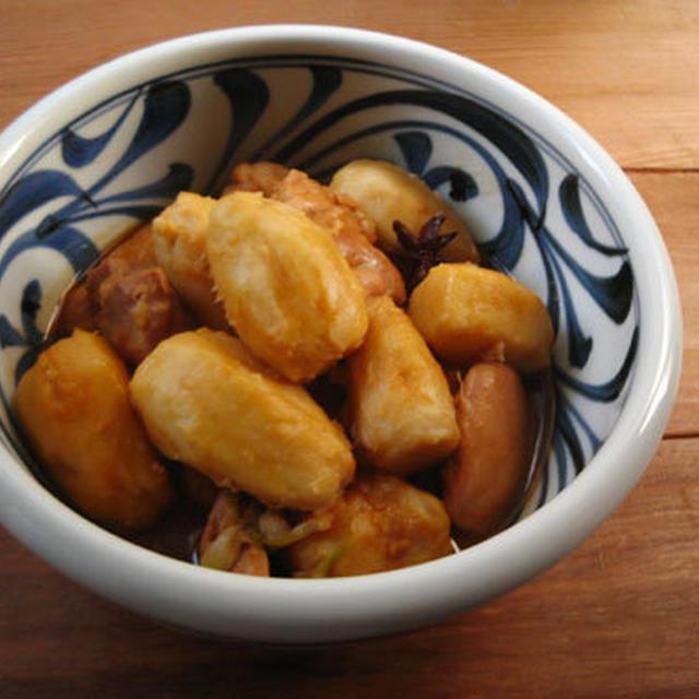 里芋と鶏肉の中華風うま煮