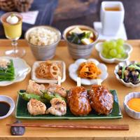 焼き鳥の朝ごはんと ✻ お豆腐デザート(レシピあり)