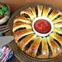 パーティに華やかなタコ・リング(惣菜パン)