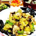 畑のお野菜でスイチリ味噌炒め。