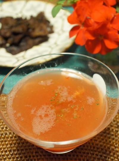 【掲載】美肌作りに!ひんやり美味しいトマトのすり流し/毎日キレイ