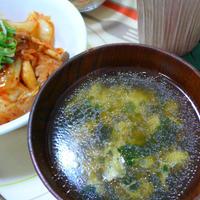 【モニターレポート】丸美屋混ぜ込みわかめで朝ごはん☆混ぜ込み中華風スープ