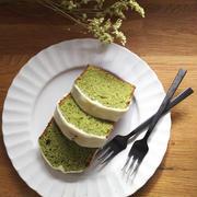 生クリームで作る抹茶のパウンドケーキ