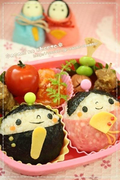 お子さんが笑顔になる♡かわいいひな祭りお弁当レシピ7選