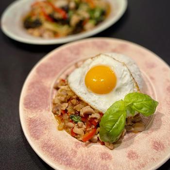 お料理教室Orange/オランジュオンラインレッスン〜2月はタイ料理鶏もも肉1枚、30分2品〜