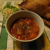 朝のトマトスープ