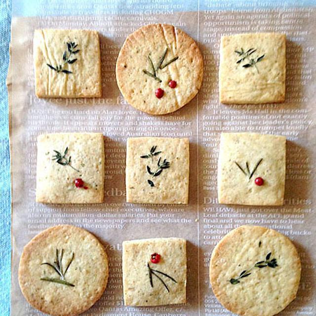 ハーブのクッキー。