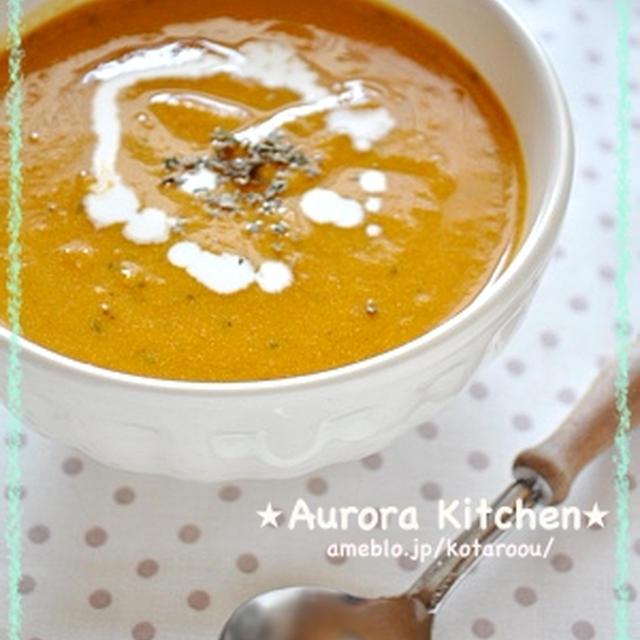 『かぼちゃとトマトの 食べる冷製スープ』と、浅草の七夕まつりとほうづき市へ♪♪