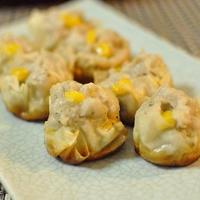 里芋のイタリアンハーブが香る焼きシュウマイ