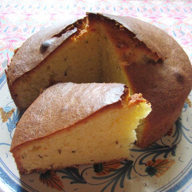 <イギリス菓子・レシピ> シード・ケーキ【Seed Cake】