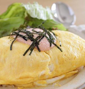間違いない味♡明太子バター醤油オムライス