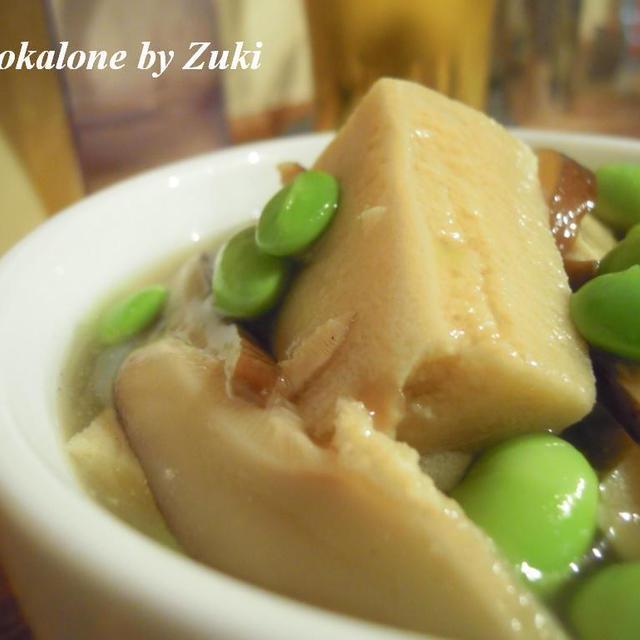 枝豆と高野豆腐の旨煮