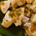 鶏肉のわさび醤油マヨソース焼き