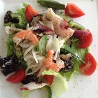 夏野菜の地中海風サラダ