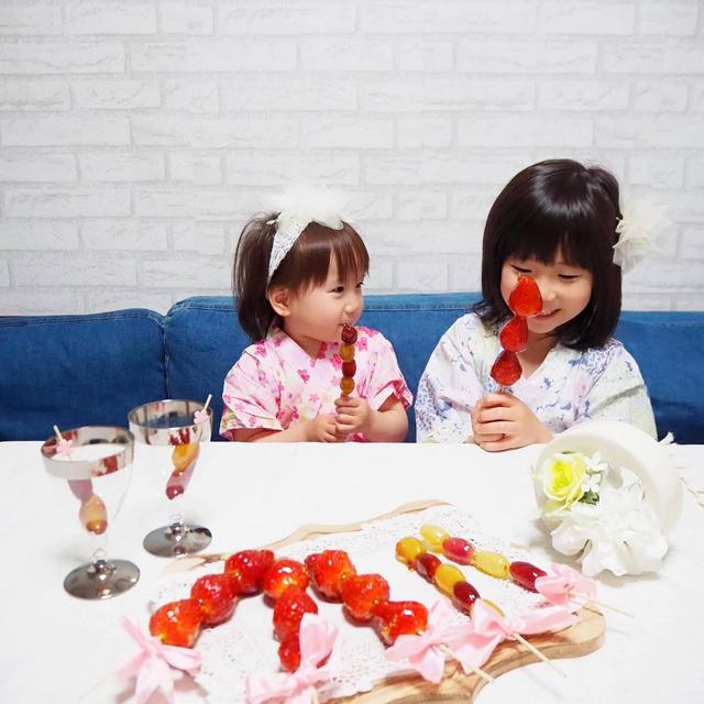 【簡単レシピ・手作りおやつ】おうちでフルーツ飴(いちご飴)づくりを楽しもう☆