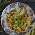 Roasted Corn Salad ローストコーンのサラダ