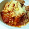 濃厚トマトとチキンの煮込み