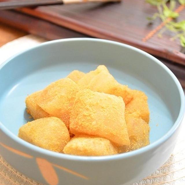 タピオカ粉ときび砂糖で絶品くず餅