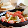 トマトとカマンベールチーズのとろ~りアヒージョ♪«ぐんまクッキングアンバサダー»