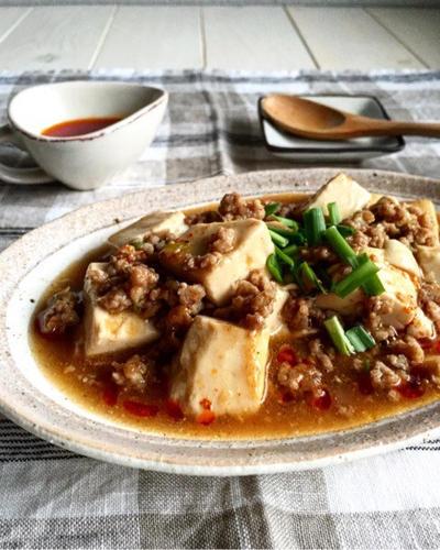 20分あれば*すぐ♪我が家の麻婆豆腐♪と老化現象かな(>_<)