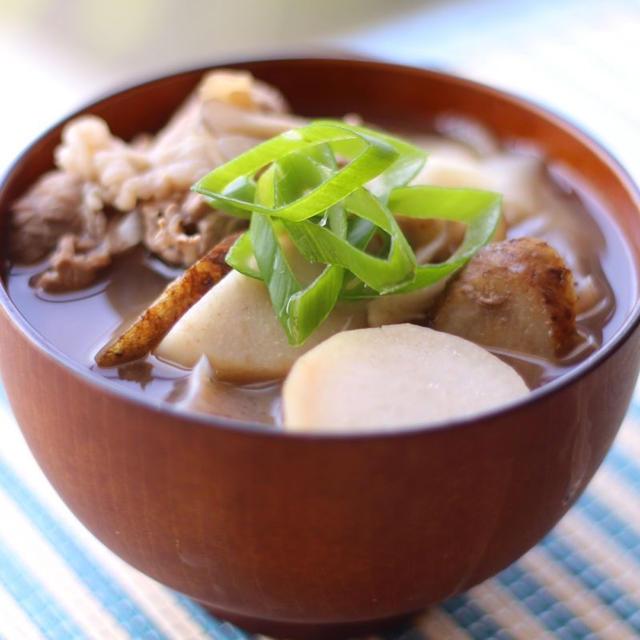 おうちで簡単「山形芋煮」