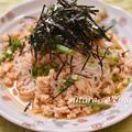 簡単冷麺第4弾、ピリ辛鶏素麺