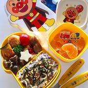 息子の幼稚園お弁当 今日で40個目 詰め過ぎ注意!