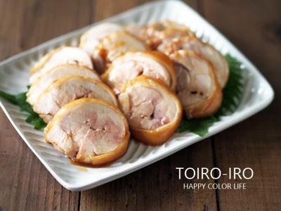 レンジで6分!の鶏チャーシューのレシピなどの追加と、今日のレシピ