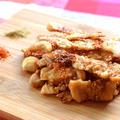 激楽サクッと。パリサク実現の和風チキン醤油煎餅(糖質0.5g) by ねこやましゅんさん