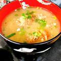栄養満点!サバの味噌煮缶詰で作るつみれ汁