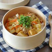 厚揚げでかさ増し!厚揚げと野菜のウマ炒めのっけ弁当