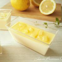 レモンのババロア レモンシロップがけ