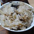舞茸と平茸の炊き込みご飯