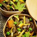 ■地味美味しい季節の煮物【ズイキの甘辛炒め煮】おもてなし料理①です♪