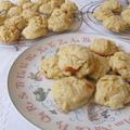 杏ジャム&杏ジャム入りクッキー