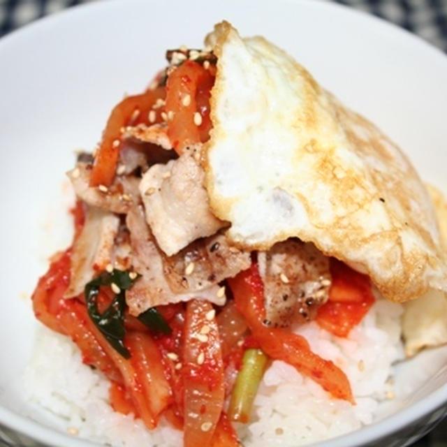 センチェビビンバ(생채비빔밥) -- ブチョン家の定番ビビンバ
