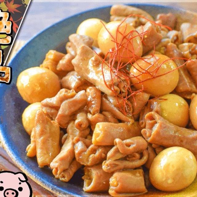 噛むほど柔旨!絶品純米黒酢のサッパリ豚白ホルモン(糖質7.3g)