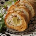 【おいしい朝食レシピ】和風おさつのスタッフドバゲット。