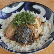 サバ缶で簡単・火を使わずに♪サバの手こね寿司風