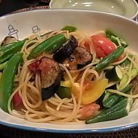 た~ぷり野菜のパスタ