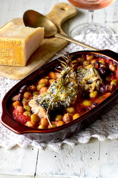 包丁も火も不要♥缶詰レシピ♥鯖・豆・トマト・チーズ焼き♥トースター【#超簡単 #魚のおかず】