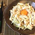 エキスつゆだく系。鶏ガラ塩麹のネギ鶏チャーシュー丼風(糖質4.0g) by ねこやましゅんさん
