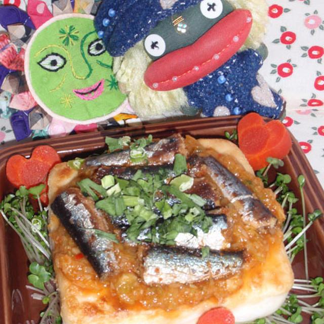 豆腐とオイルサーディンのネギソース&蓮根とキムチのピリ辛炒め(お家カフェ)