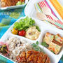 簡単鶏もも肉の韓国風チキン南蛮弁当☆デリ仕立て