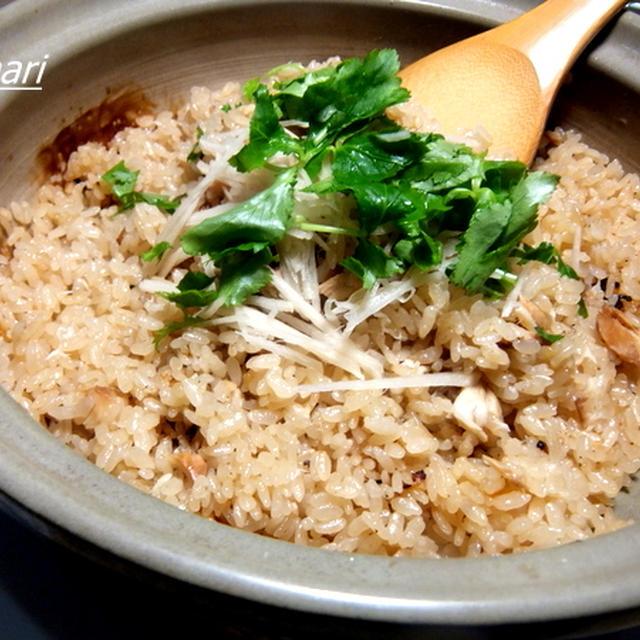 土鍋で作る「鯛めし」