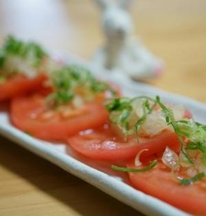 トマトの玉ねぎソース☆