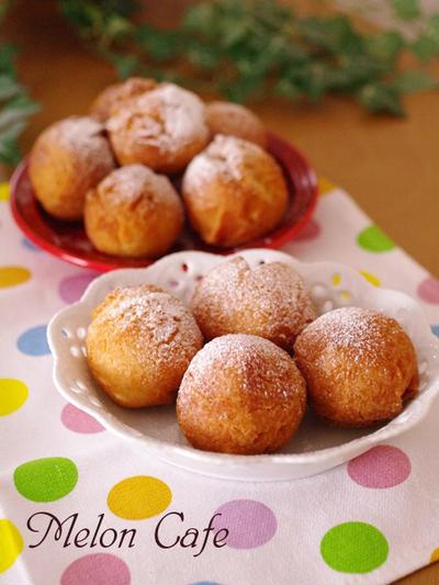 ホットケーキミックスでつくる、何が出るかなころころドーナツ☆中身いろいろ、ひなまつりパーティやホワイトデーに