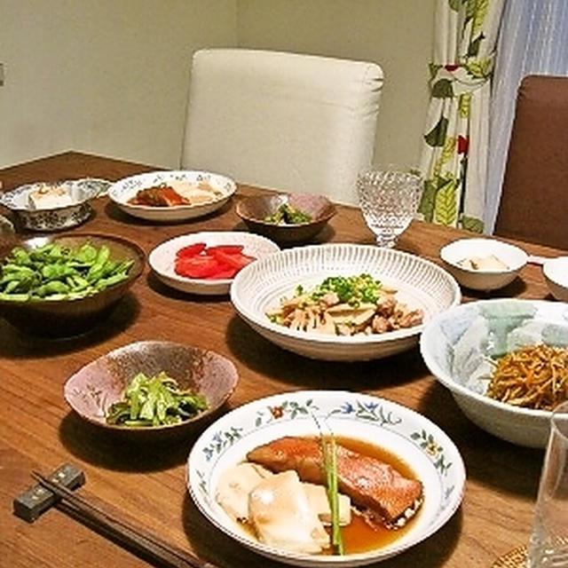 鶏肉と筍の塩麹炒め