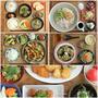 先週の1週間献立記録(鶏のカシューナッツ炒めとパクチーつくねや冷やし麺など)