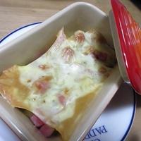 ベーコンポテトのローズマリー風味チーズグラタン